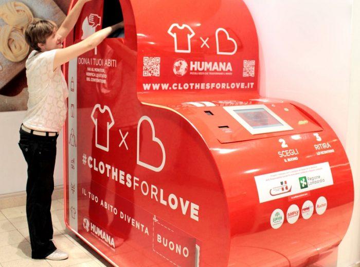 Clothes for love l' Hi-Tech diventa solidale