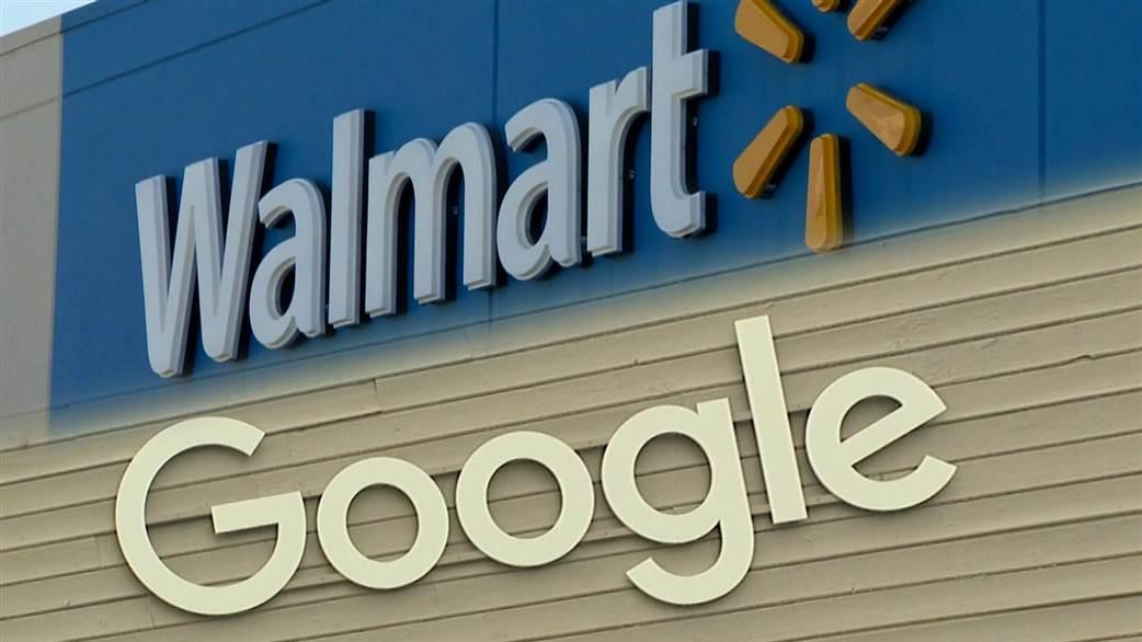 Accordo fra  Google e Wal-Mart contro Amazon